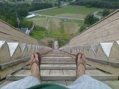 Worst slide ever #ouch #damn