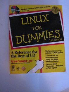 """Linux for Dummies 2nd Edition 1999 By Jon """"maddog"""" Hall - As Seen No Reserve  #Used #howto #reference #guide #book #computers #guide #mag #magazine  #Relisted #ebay #sale #auction #item #bid #away #NoReserve #deal #Bids #welcomed #hurry #rush #ships #worldwide #vintage #linux #fordummies"""