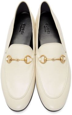 0bcaec4f5 Gucci White Brixton Crushback Loafers - Gucci Brixton Loafer - Ideas of Gucci  Brixton Loafer #