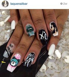 The Weeknd Nails.