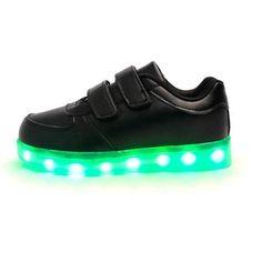 Zapatillas Luminosas y Velcro Clásico Bebe