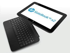 HP SlateBook x2 Android and Split x2 Windows Convertible Tablets