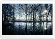 Reflection In Kromme Rijn River.