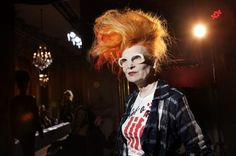 Dame Vivienne Westwood (born Vivienne Isabel Swire on 8 April 1941) is an English fashion designer and businesswoman, largely responsible for bringing modern punk and new wave fashions into the mainstream.