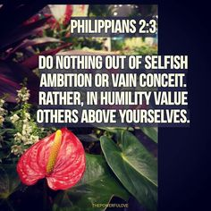 Philippians 2:3  Do nothing out of selfish ambition or vain conceit. Rather in humility value others above yourselves.  #quotesoftheday #quotes #quote #bible #biblequotes #bibleverse #tbt #l4l #instagood #instagram #water #love #positive #positivevibes #positivethinking #heart #jesus #best #motivasi #motivationalquotes #motivation #inspiration #inspiring #inspirasi #inspirationalquotes  #bestoftheday #pinterest #IFTTT #photooftheday #IFTTT