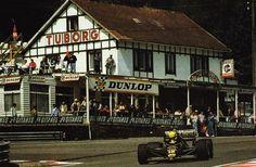 Ayrton Senna - Spa 1986 Lotus 98T