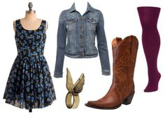 how to wear cowboy boots - outfit 3