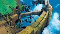 天空の城ラピュタ/LAPUTA: Castle in the Sky. by Nizo Yamamoto http://www.yamamoto-nizo.com/