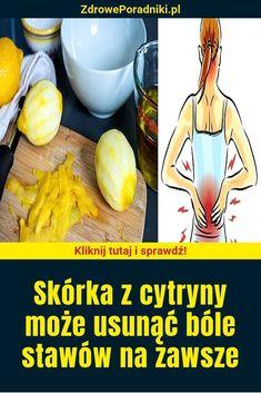 """""""Skórka z cytryny może usunąć bóle stawów na zawsze """" Natural Medicine, Remedies, Healthy Recipes, Vegetables, Breakfast, Blog, Wellness, Green, Hair"""