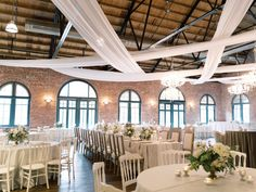 La Tavola Fine Linen Rental: Trouseau Vapor with Aurora White Table Runner | Photography: Simply Sarah Photography, Event Planning & Design: Beckon Events, Florals: Kate Asire Flowers, Venue: Larkins L, Calligraphy: Cotton and Cursive, Rentals: Professional Party Rental and Ooh! Events