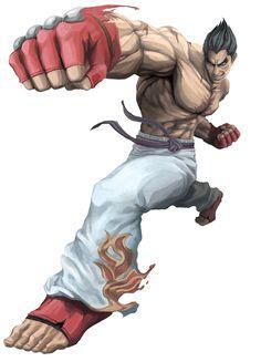 Kazuya Mishima from Street Fighter X Tekken