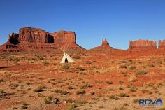 (8) Navajo Lands: Created by Ronald Varley just outside Monument Valley AZ