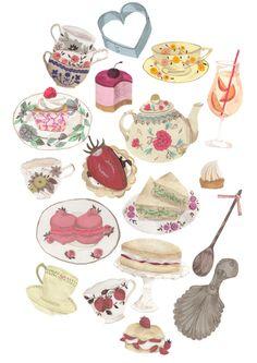 tea and cake emma block
