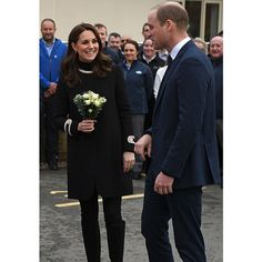Kate Middleton steps out in another classic Goat coat   HELLO! Canada