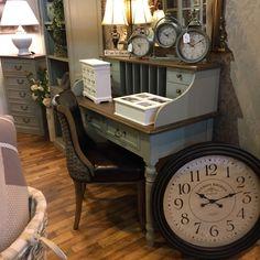 French Grey Bureau – Allissias Attic & Vintage French Style