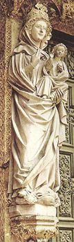 Virgen Blanca de Catedreal Leon