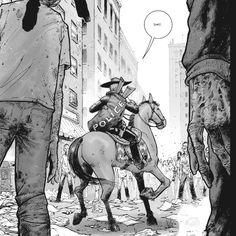 The Walking Dead comic Walking Dead Comic Book, Walking Dead Comics, Fear The Walking Dead, Dystopian Art, Scary Shows, Twd Comics, Dead Zombie, Dead Inside, Stuff And Thangs