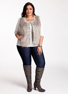Plus size outfit Ashley Stewart