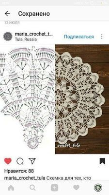 Most up-to-date Free of Charge Crochet Doilies centerpiece Thoughts Doily Centerpiece Pineapple Table Linen Placemat Home Decoration Crochet lace tabletop decor Crochet Doily Diagram, Crochet Doily Patterns, Crochet Chart, Thread Crochet, Filet Crochet, Crochet Motif, Crochet Lace, Crochet Circles, Crochet Round