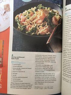Shrimp and Broccoli Rabe Fusilli