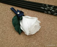 Rose Boutonniere by DiahChristie