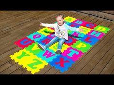 ABC Alphabet Phonics Nursery Rhymes Songs for Kids with Gaby and Alex Alphabet Phonics, Alphabet For Kids, Learning The Alphabet, Alphabet Letters, Abc Songs, Kids Songs, Nursery Rhymes Songs, English Alphabet, Learn English