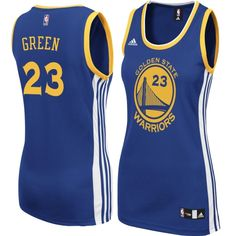 adidas Draymond Green Golden State Warriors Womens Royal Road Replica  Jersey Adidas Women 6453c1de4