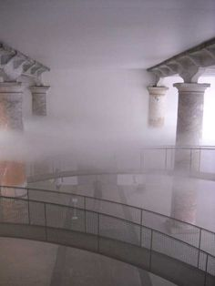 """Cloudscape"" by Matthias Schuler in cooperation with Tetsuo Kondo. Arsenale, 2010 Venice Biennale"