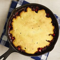 Chili and Cornbread Skillet Pie http://www.prevention.com/food/healthy-recipes/healthy-potpie-comfort-food-recipes/slide/3