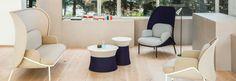Étkező, kávézó és közösségi terek - Poziteam Banquettes, Community Space, Soft Seating, Floor Chair, Flooring, Dining, Inspiration, Furniture, Home Decor