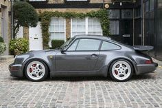 The Porsche 911 is a truly a race car you can drive on the street. It's distinctive Porsche styling is backed up by incredible race car performance. Porsche Sports Car, Porsche Cars, Porsche 911 964, Vintage Porsche, Hot Cars, Dream Cars, Ferrari, Volkswagen, Automobile