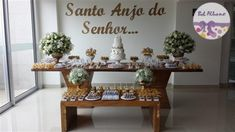 Festa Infantil | Anjos dourados para o batizado do Davi | Belo Horizonte/MG