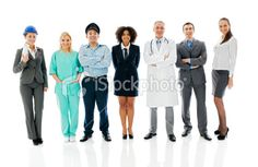 Diversity occupations people. Royalty Free Stock Photo