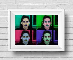 Autrorretrato Pop - Técnica: Mixta digital - Autor: Michel S. Sogamoso - DD2
