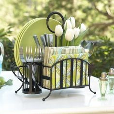 Wicker Paper Plate Holders Bed Bath And Beyond