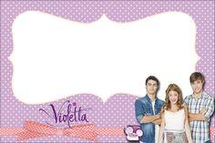 Violetta: invitaciones y tarjetería para imprimir gratis. - Ideas y material gratis para fiestas y celebraciones Oh My Fiesta!