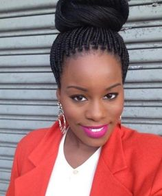 African braiding hairstyles 2017 - http://trend-hairstyles.ru/1222.html  #Hairstyles #Haircuts #promhairstyles #Hair