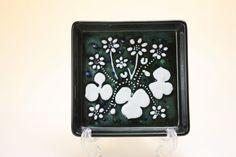 Rorstrand Sylvia Leuchovius Atelje/ロールストランド シルヴィア・レウショヴィウス 花の陶板