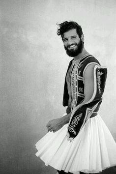 greek traditional mens wear