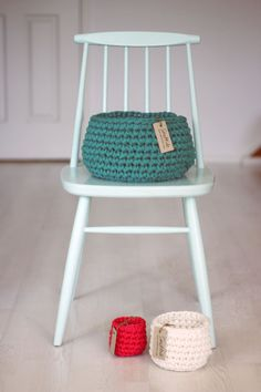 Crochet baskets- how can I do all these fun projects!
