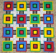 Apple Avenue Quilts: Two Finishes