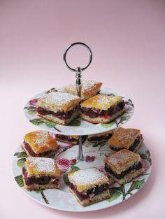 Hungarian Cherry Pie Squares