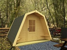 Dunster House Ltd   3 Standard Camping Cocoons W3.0m x D3.0m   Outdoor living