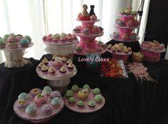 Mesa de cupcakes Boda de Sandra y Jorge