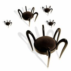 arachnid chair for Halloween