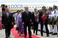 Myanmar president arrives for Malaysia visit - Regional   The Star Online