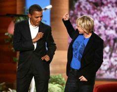 President Obama dances on Ellen Degeneres Show