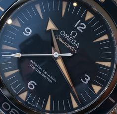 The new Omega Seamaster 300 Master Co-Axial fits in to Omega's dive watches as a direct visual emulation of the classic Omega Seamaster 300 watch from the 1950s