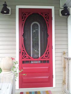 Victorian Screen Door Plans