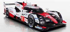 Toyota presenta su renovado TS050 Hybrid LMP1 para el WEC 2017
